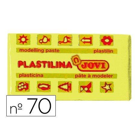 Plastilina Jovi amarillo claro pequeña