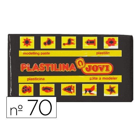 Plastilina Jovi negro pequeña