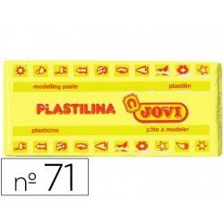 Plastilina Jovi amarillo claro mediano