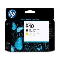 Cabezal HP 940 Negro y Amarillo C4900A