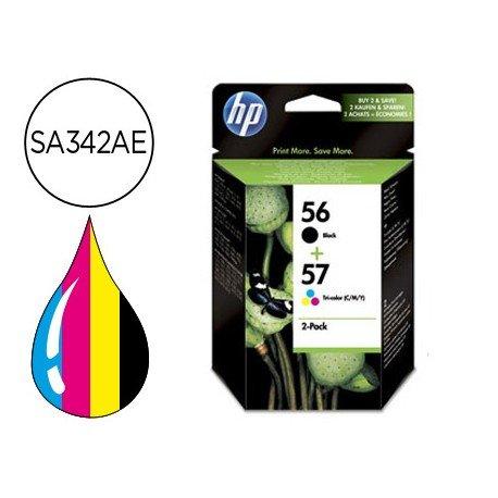 Cartucho combo HP 56 y 57 SA342AE