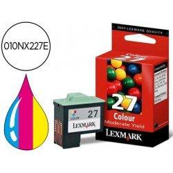 Cartucho Lexmark 010NX227E Nº 27 Tricolor