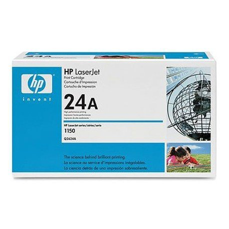 Toner HP 24A Q2624A color Negro