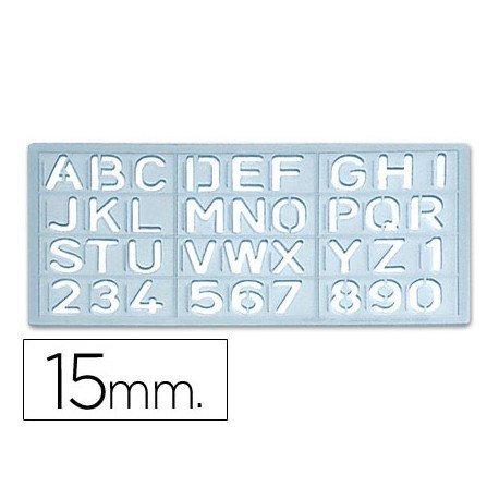 Plantilla Csp Rotulacion Letras Y Numeros 10517