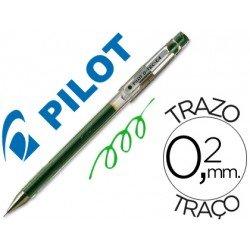 Boligrafo marca Pilot punta aguja 0,2 mm g-tec-c4 verde