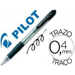 Boligrafo Pilot Super Grip negro