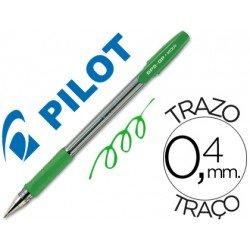 Boligrafo Pilot BPS-GP Verde 0,4 mm
