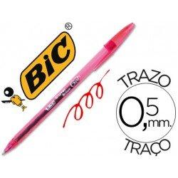 Boligrafo Bic Cristal Gel rojo