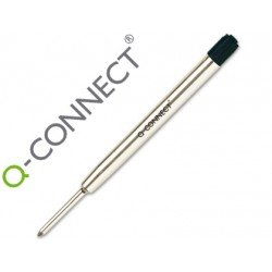 Recambio bolígrafo Q-Connect parker negro