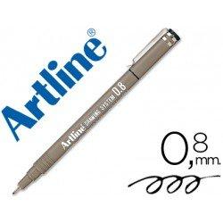 Rotulador Artline calibrado micrometrico negro 0,8mm
