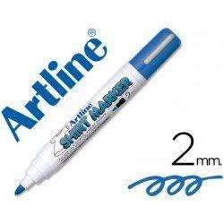 Rotulador para tela textil Artline azul