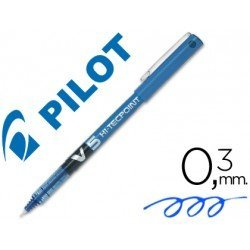 Rotulador Pilot V-5 0,3 mm Azul