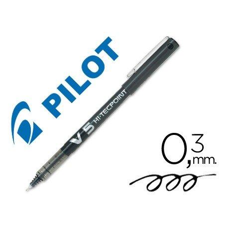 Rotulador Pilot V-5 0,3 mm Negro