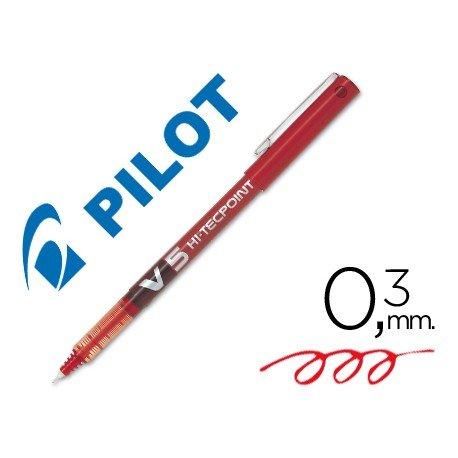 Rotulador Pilot V-5 0,3 mm Rojo