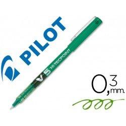 Rotulador Pilot V-5 0,3 mm Verde