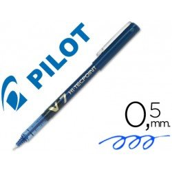 Rotulador Pilot V-7 0,5 mm Azul