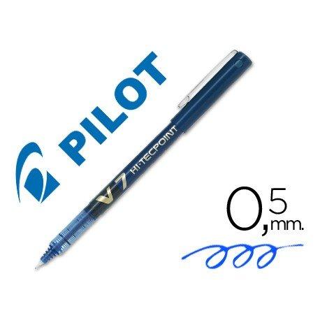 Rotulador Pilot V-7 0,5 mm Azul