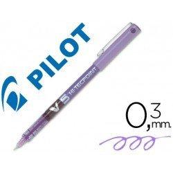 Rotulador Pilot V-5 0,3 mm Violeta