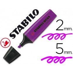 Rotulador Stabilo Boss 70 violeta