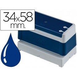 Sello Automatico Brother 34 x 58 azul
