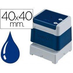Sello Automatico Brother 40 x 40 azul