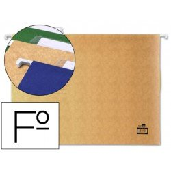 Carpetas colgantes Liderpapel folio visor superior