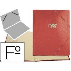 Carpeta clasificadora carton compacto Saro 275 x 360 mm Rojo