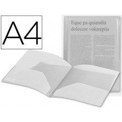 Carpeta dossier con doble bolsa Liderpapel Din A4