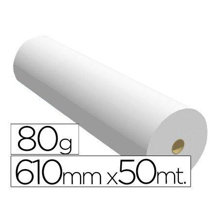 Papel reprografia opaco plotter Navigator 80 g/m2, 610 mm x 50m
