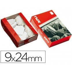 Etiquetas colgantes Apli 384 9 x 24 mm
