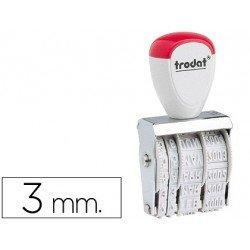 Fechador manual marca Trodat 3mm