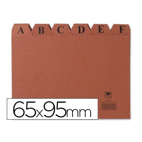 Indice fichero Liderpapel N1 carton