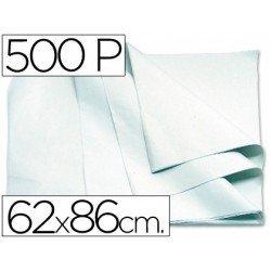 Papel manila 62x86 cm blanco 1 resma