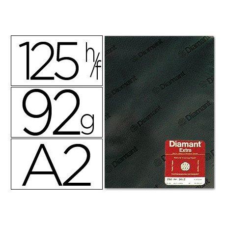 Papel vegetal Diamant A2 92g/m2 hoja