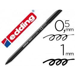 Rotulador Edding 1200 negro nº 1