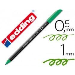Rotulador Edding 1200 verde nº4