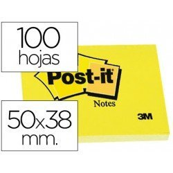 Post-it ® Bloc de notas adhesivas quita y pon
