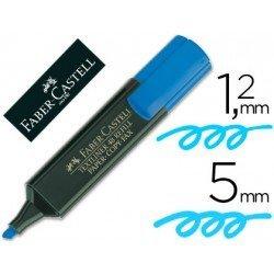 Rotulador Faber-Castell azul