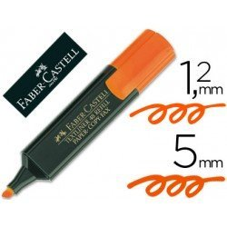 Rotulador Faber-Castell naranja
