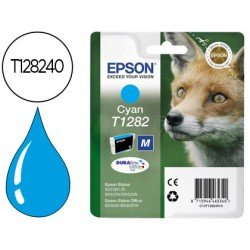 Cartucho Epson cian T1282