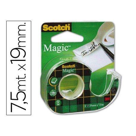 Portarrollo sobremesa marca Scotch invisible