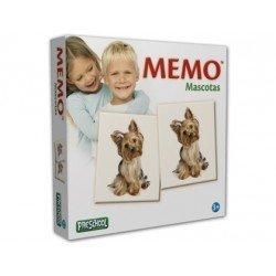 Juegos de mesa Falomir Memo mascotas