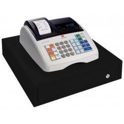 Registradora electronica Olivetti ECR-7700. Cajon grande alfanumerica.