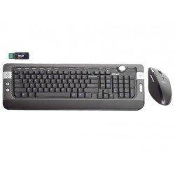 Set teclado raton Trust DS-4700R inalambrico laser