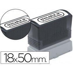 Etiquetas para sellos Brother 18x50 mm