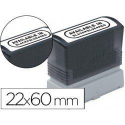 Etiquetas para sellos Brother 22x60 mm