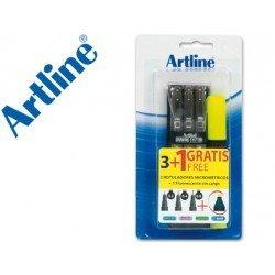 Rotulador Artline calibrado micrometrico
