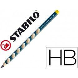 Lapices grafito Stabilo Easygraph zurdos ergonomico minas HB triangular