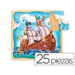 Puzzle a partir de 3 años Barco pirata marca Diset