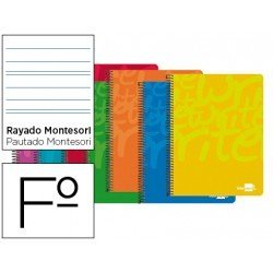 Bloc Liderpapel folio Write rayado montessori 3.5mm
